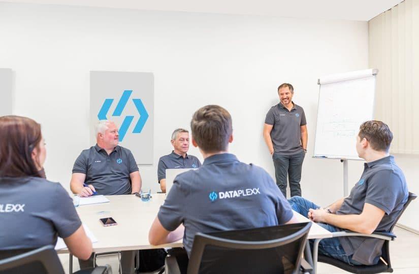 Dataplexx Team Besprechung